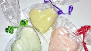 Bath Fizzy Balls or Hearts
